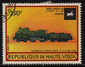 Burkina Faso C158 Early Locomotives 1973