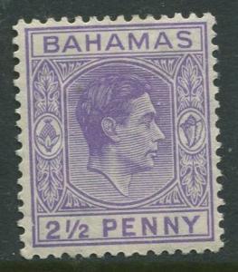STAMP STATION PERTH Bahamas #104A KVI Definitive 1938 MLH CV$1.10