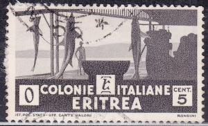Eritrea 159 USED 1934 Shark Fishery