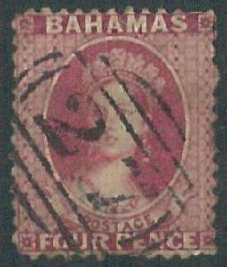70310e - BAHAMAS - STAMP: Stanley Gibbons # 26x or 27x   -  Used