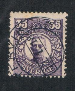 Sweden 87 Used Gustaf V (S0393)