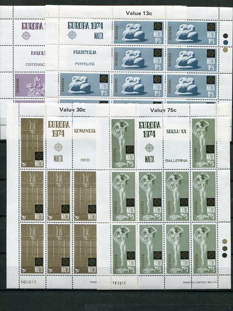 Europa CEPT  Misc.  selection VF NH  - Lakeshore Philatelics