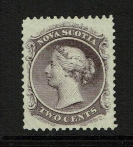 Nova Scotia SC# 9 Mint Hinged / Hinge Rems - S8320
