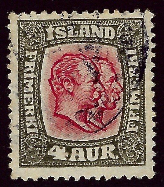 Iceland SC#101 Used F-VF..Fill a Key Spot!!
