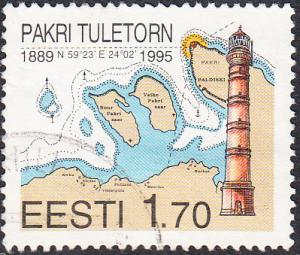 Estonia #292  Used
