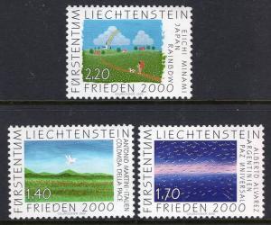 Liechtenstein 1182-1184 Summer Olympics MNH VF