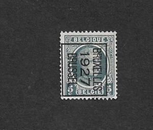 BELGIUM 1922-25 KING ALBERT 5C USED