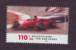 J23335 JLstamps 1999 germany part of set #b845 auto car sports