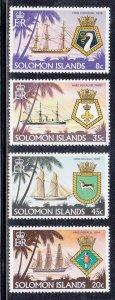 Solomon Islands Scott #417-420 MNH