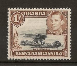 KUT 1949 1/- SG1456b Mint Cat£22