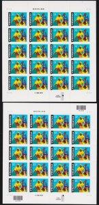 US 1996 3368 & 3673 33c, 37c Kwanzaa Mint Sheets Mint NH