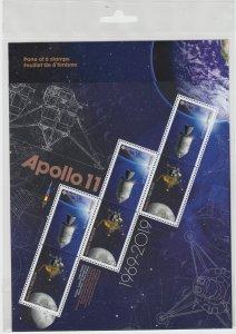 Canada - *NEW* Apollo 11 Stamp Pane  - MNH
