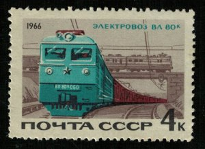 Train, Steam locomotives, (3736-T)
