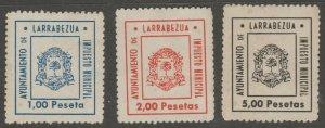 Spain Local fiscal revenue Stamps 6-19-21- no gum