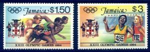 HALF-CAT BRITISH SALE: JAMAICA #577-80a Mint NH