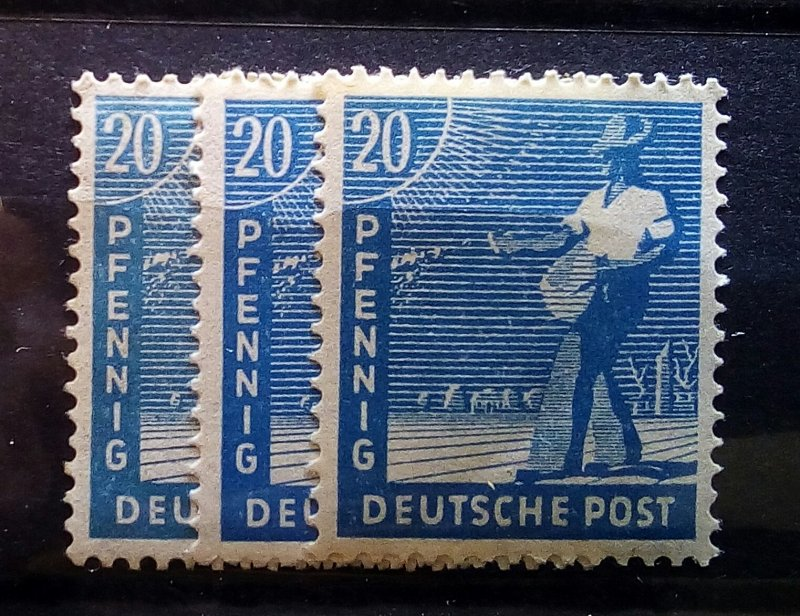 Germany Allied Occupation 950 abc mnh