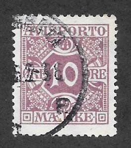 DENMARK #P16 VF Used Newspaper Stamp 2013 CV $5.25