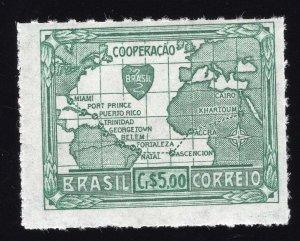 Brazil Scott #628-632 Stamps - Mint Set