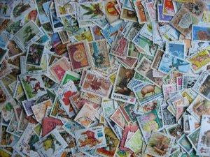 Vietnam N & S scrap pile (duplicates, mixed cond) estimate 250 stamps