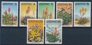 [67253] Lesotho 1977 Flora Flowers Blumen  MNH