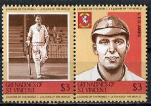 St Vincent Grenadines: 1984; Sc. #417, **/MNH Se-Tenant Stamps