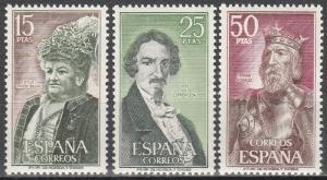 Spain #1698-1700   MNH   (S6913)