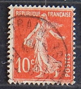 France, 1906 Sower - Solid Background, MC #117, (1806-Т)