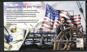 PITCAIRN ISLANDS SGMS710 2006 VOYAGE CHARLES DOGGETT FINE USED