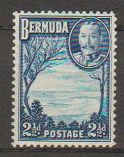 Bermuda SG 102  Mint Very Light Hinge