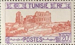 Tunisia #113 MNH CV$3.50 El Djem Thysdrus Ampitheater [174556]