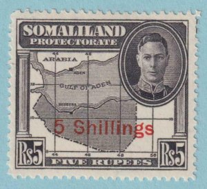 SOMALILAND PROTECTORATE 126  MINT HINGED OG * NO FAULTS VERY FINE!