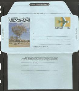 Australia 1981 Airletter A54 H&G #53 Mint