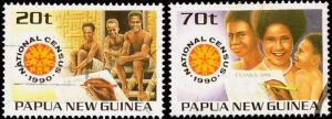 Papua New Guinea MNH 733-4 National Census
