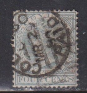 CEYLON Scott # 78 Used - Queen Victoria