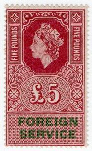 (I.B) Elizabeth II Revenue : Foreign Service £5