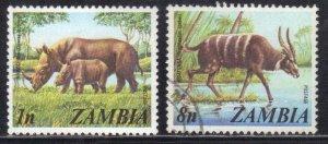 ZAMBIA SCOTT# 135,140  MNH&USED  1n+8n 1975    SEE SCAN