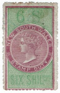 (I.B) Australia - NSW Revenue : Stamp Duty 6/-