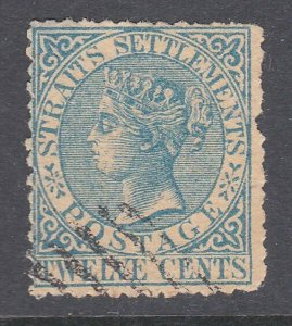 MALAYA STRAITS SETTLEMENTS  An old forgery of a classic stamp...............C940