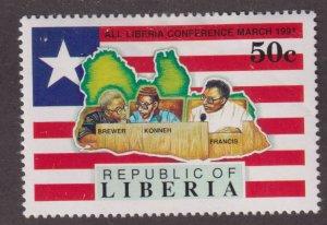 Liberia 1150 National Unity 1991