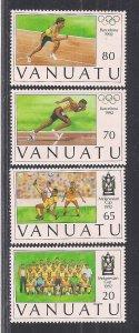 VANUATU SC# 569-72    FVF/MNH   1992