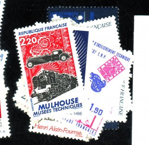 FRANCE #2009-10 13-5 17-20 22-6 MINT VF OG NH Cat $17