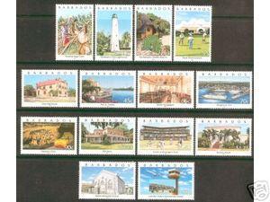 Barbados #982-95 VF MINT NH - 2000 Sites In Barbados