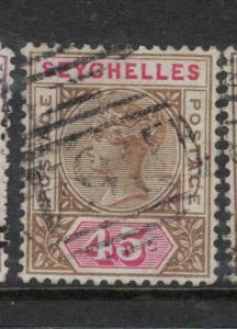 Seychelles SG 25 VFU (2dwg)