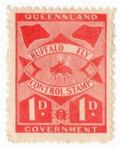 (I.B) Australia - Queensland Revenue : Buffalo Fly 1d