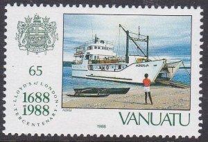 Vanuatu #487 single F-VF Mint NH ** Adela (ship)