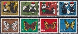 Germany #B372-5, B380-3  MNH  CV $5.15 (Z4636)