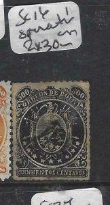BOLIVIA  (P1606B)    SC 16  SPERATI PRINT