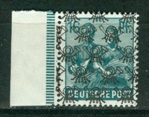 Germany Deutsche Post Scott # 623, mint nh, variation