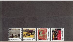 FAROE ISLANDS 364-367 MNH 2014 SCOTT CATALOGUE VALUE $10.20