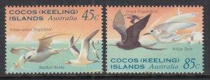 Cocos Keeling Islands 300-301 MNH VF
